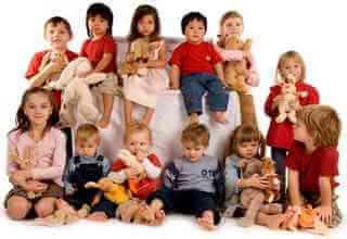 Группа детей