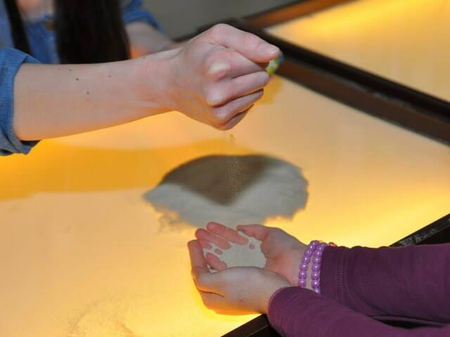 Песок сыпется из рук