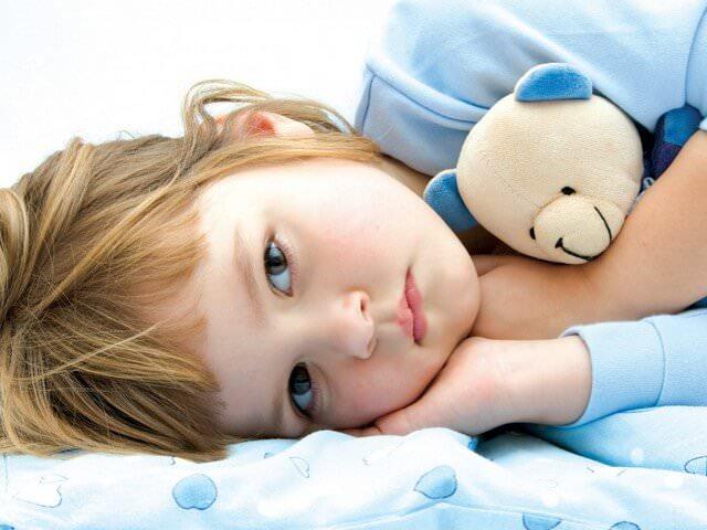 Уставший ребенок
