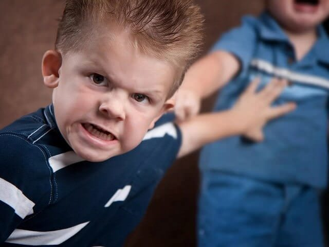 Злость у мальчика