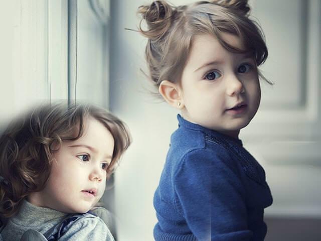 Девочка двух лет