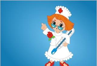 Картинка маленького врача