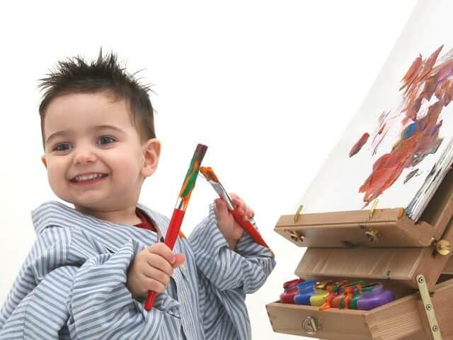 Творческое воспитание сына