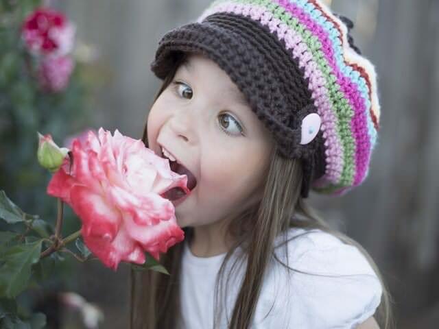 Девочка и роза
