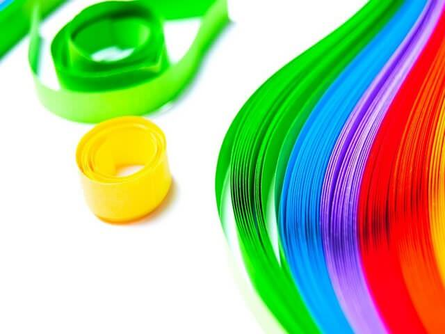 Цветные полоски