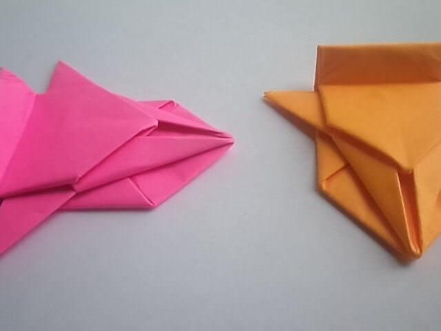 Машинки из бумаги