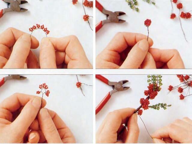 Плетение миниатюрных растений