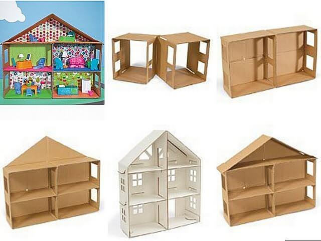 Этапы изготовления дома
