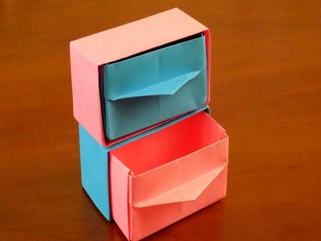 Бумажные ящики
