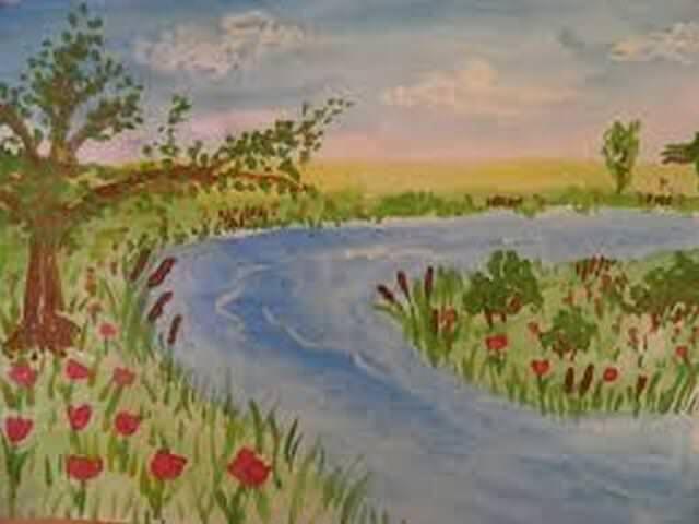 Рисунок на тему лета