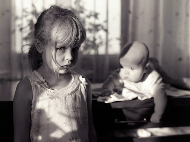 Обиженный ребенок