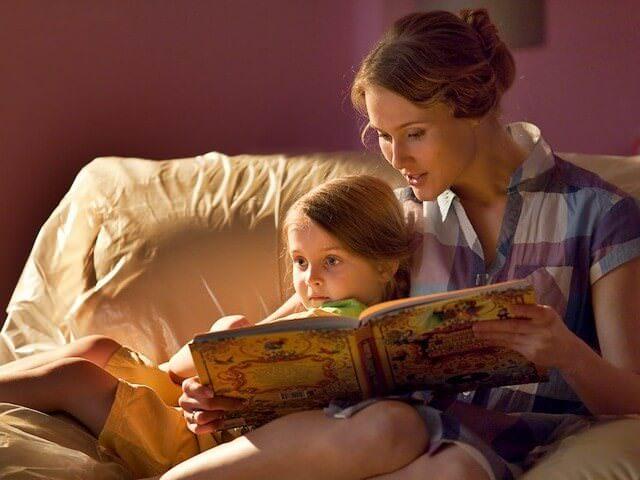 Чтение книг перед сном