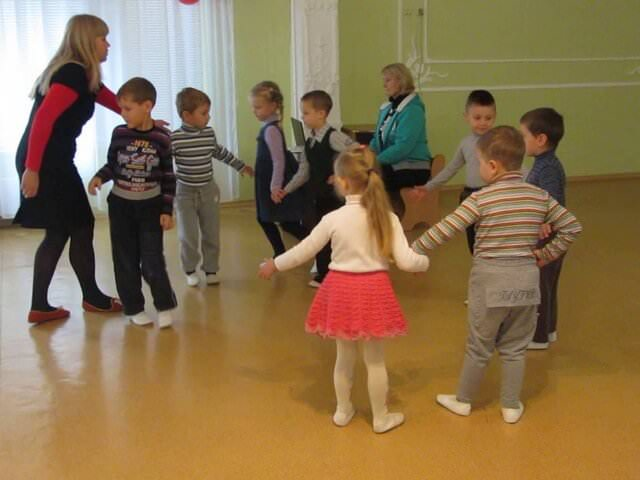 Танцевальные занятия