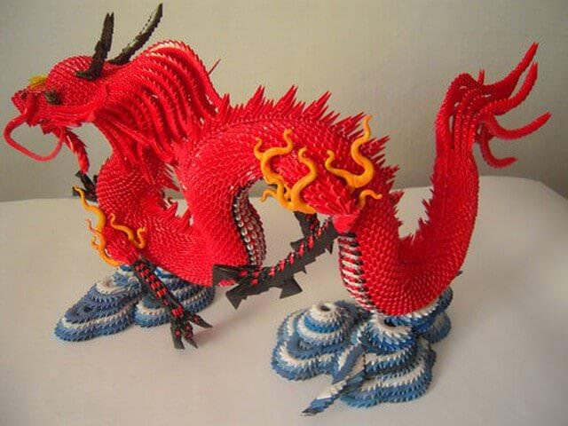 Красный дракончик