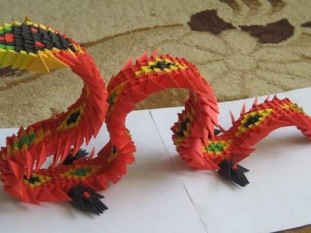 Как сделать поделку дракона фото 960
