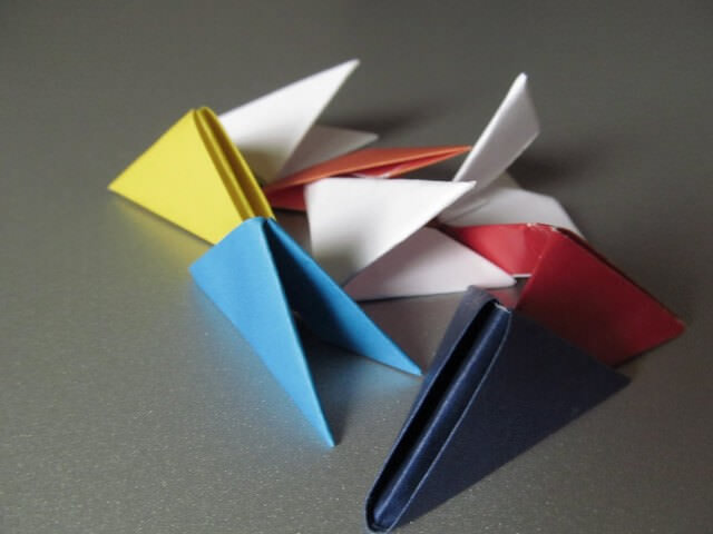 Разноцветные модули