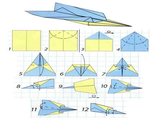 Как сделать долго летающий самолет 925