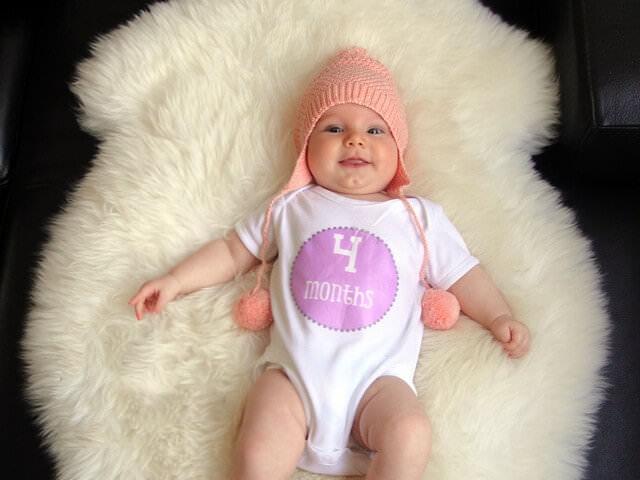 Малыш в четыре месяца