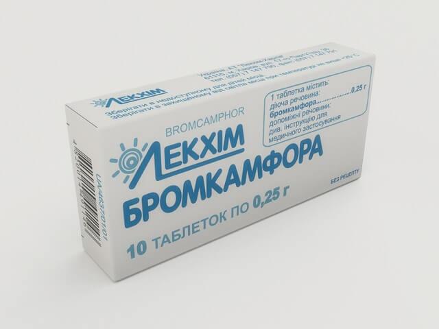 Лекарство Бромокамфора