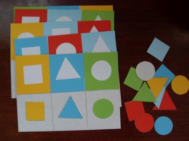 Дидактические материалы по фэмп для детей 3-4