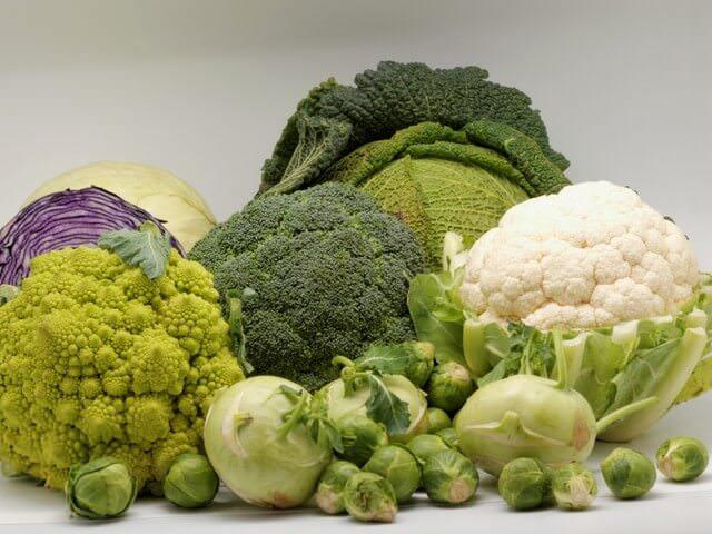 Крестоцветные овощи