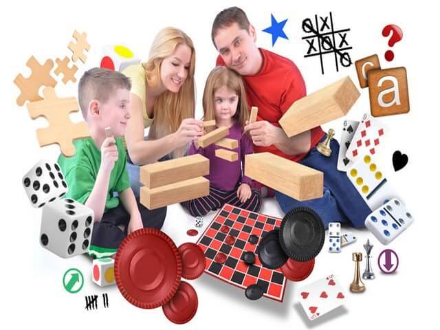 Различные виды игр