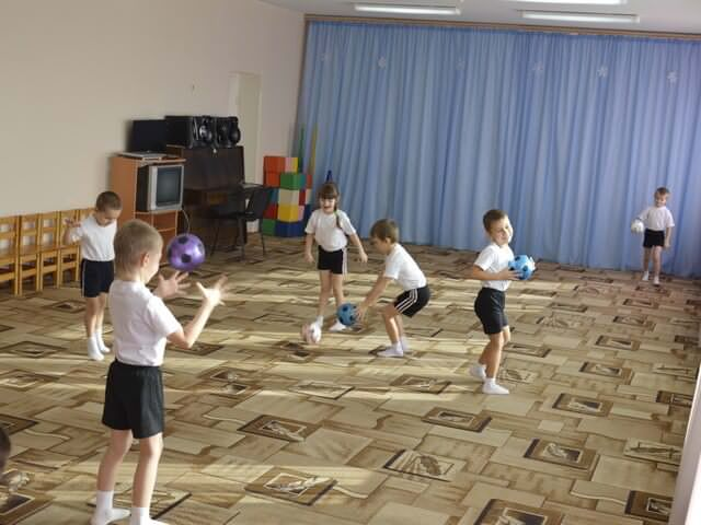 Физкультура у дошкольников