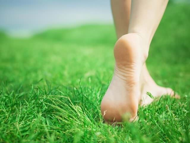 Ходьба по траве
