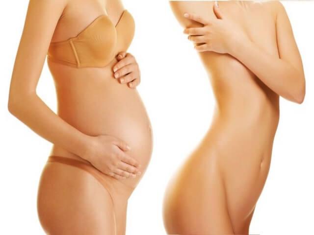 Живот до и после родов