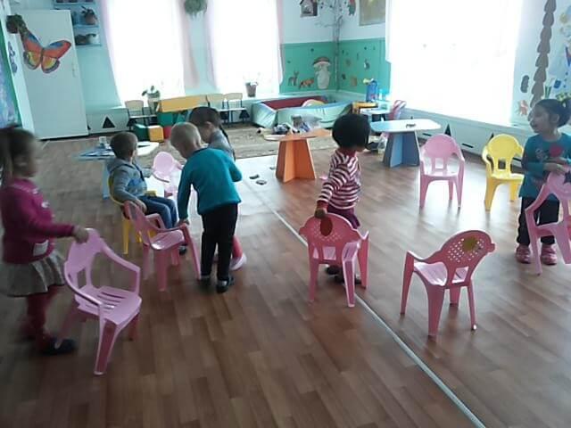 Групповые игры в детском саду