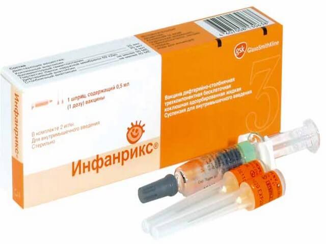 Прививка Инфанрикс