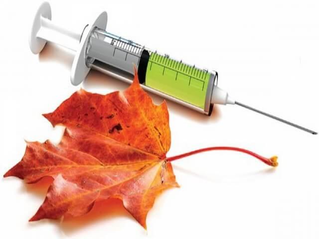 Шприц с лекарством