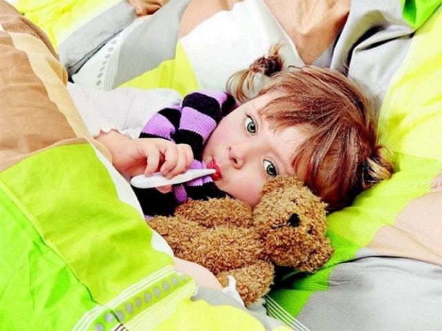 Симптомы у ребенка до года