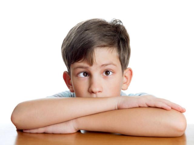 Мальчик с заболеванием